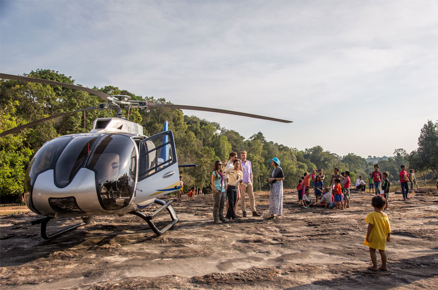 helicopters cambodia home